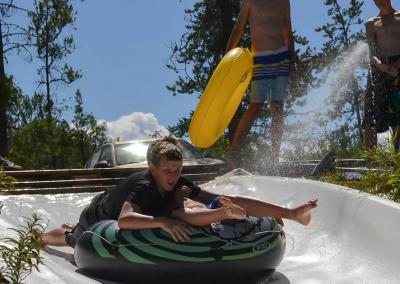 Slip-N-Slide fun